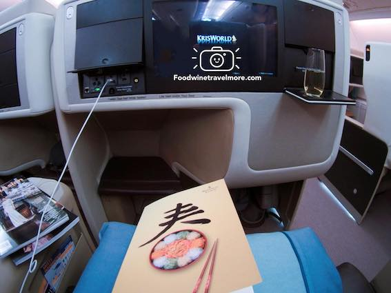 business class seat A380 singapore airlines SQ285