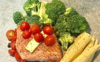 fish in a bag recipe salmon brocolli