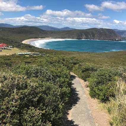 View from Cape Bruny Lighthouse