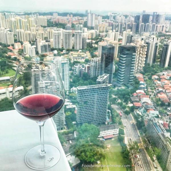 View from Salt Grill & Sky Bar at Ion Orchard