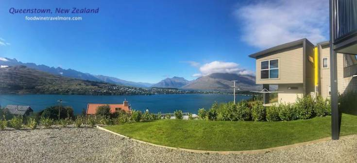 Airbnb Queenstown lake and mountain view
