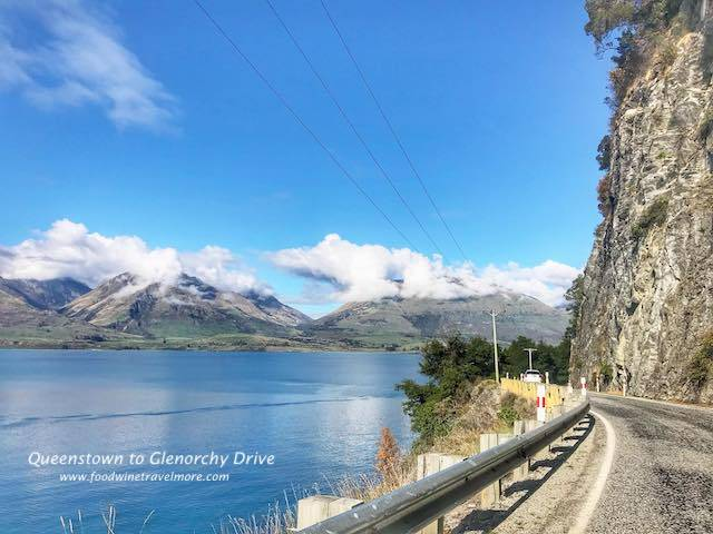 Highway from queenstown to Glenorchy paradise road