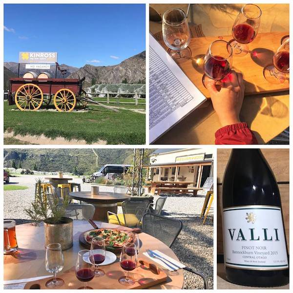 Valli wine tasting at kinross central otago