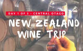 New Zealand Central Otago Wine Trip Day 1 cover photo