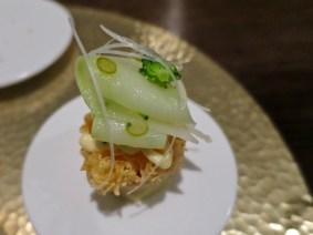 #5 white cod, mushroom, broccoli, horseradish
