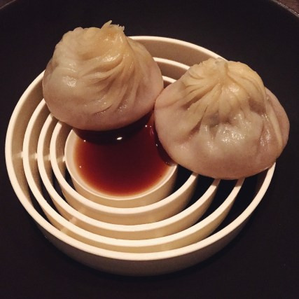 foie gras xiao long bao - Benu, SF, Jan 2015