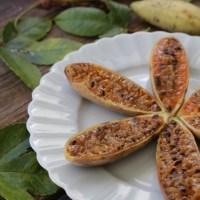 Maracujá-banana...uma sobremesa light e deliciosa
