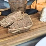 country pate and cheese board at Satis Bistro in Jersey City