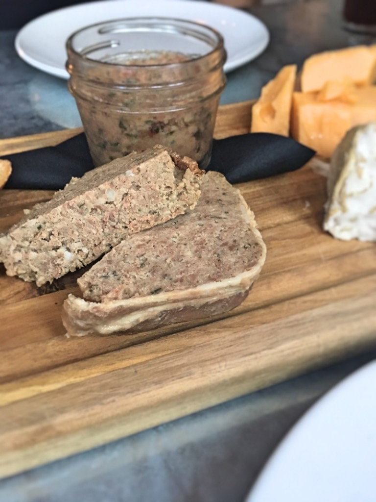 Country pate and cheese board at Satis Bistro in Jersey City | Satis Bisto restaurant review | foodwithaview.com