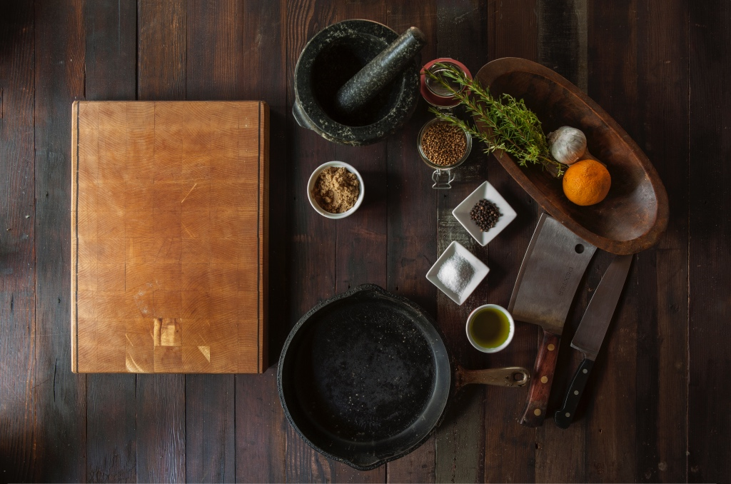Cutting board and mise and place | Kitchen essentials for any cook | photo by todd quackenbush | foodwithaview.com
