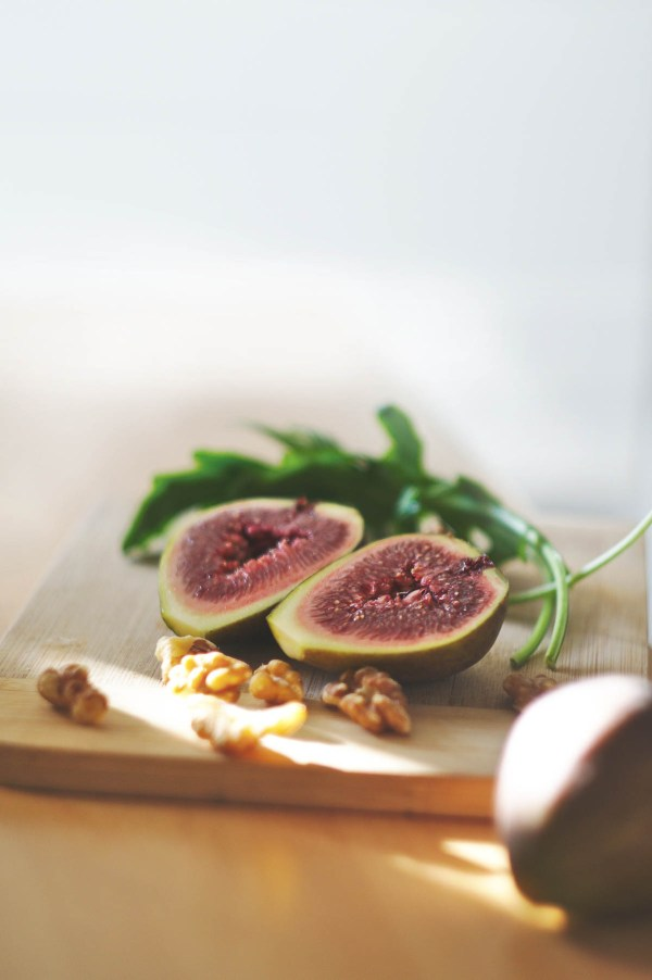 Fresh figs for simple holiday appetizers | Holiday entertaining made simple with lessons learned from The Barefoot Contessa | foodwithaview.com
