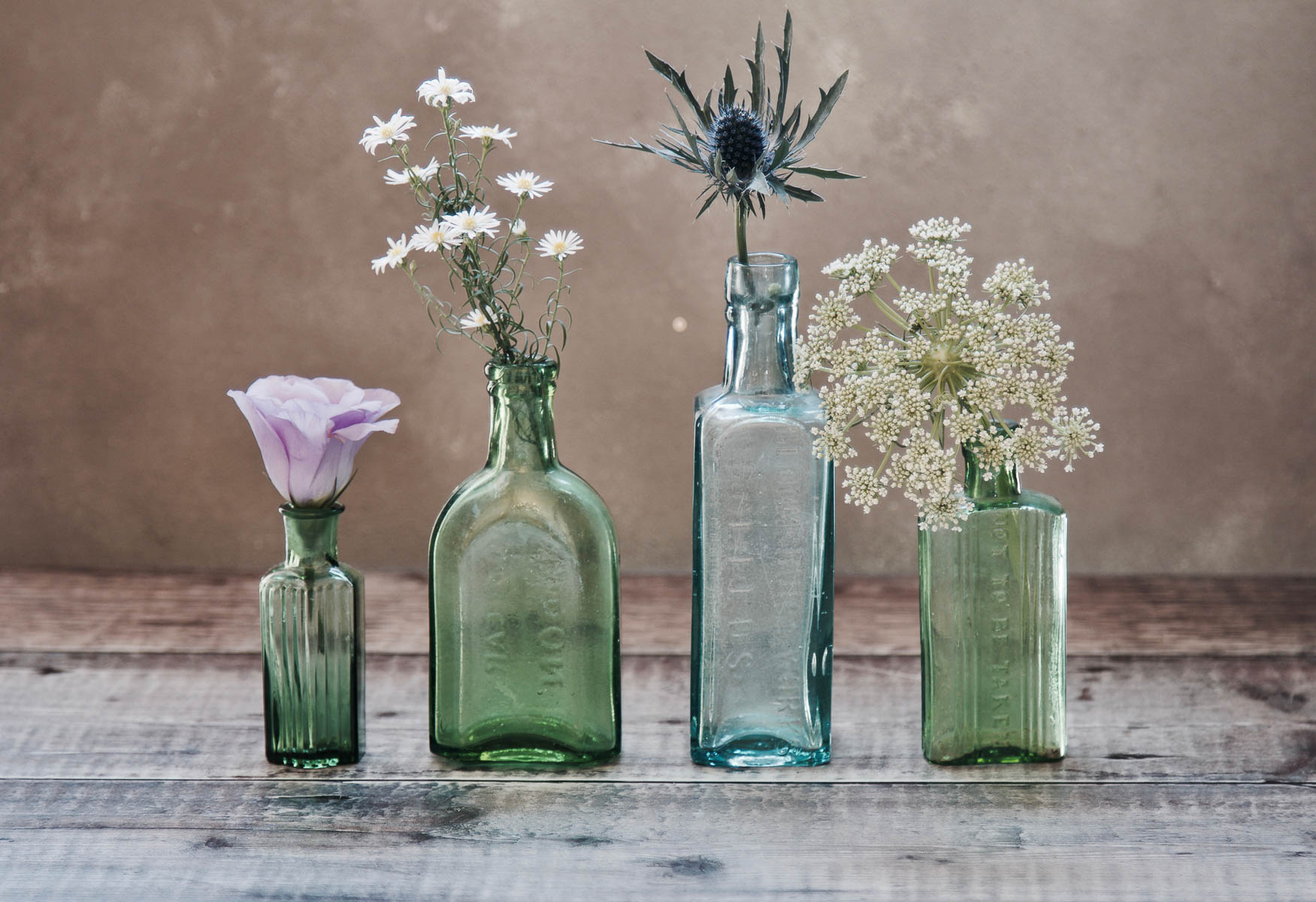 Single blooms in simple vases for simple holiday decor | Holiday entertaining made simple with lessons learned from The Barefoot Contessa | foodwithaview.com