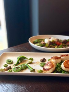 Scallops at the Cassidy Bar and Kitchen | best NJ restaurants for date night | photo by jenn kosar at foodwithaview.com