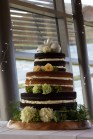 Naked Wedding Cake. Photo by Fifi Leong
