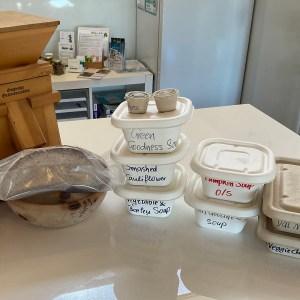 plant based - vegan soup box
