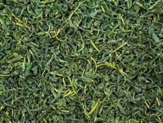 Mulberry tea leaves.