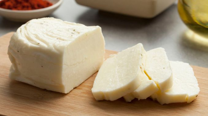 Halloumi, one of the great middle eastern cheeses. Cheese on a