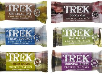 Trek Protein Flapjacks Range Mixed Case 36 Bars *Vegan, Wholefood*