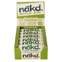A pack of Nakd Apple Pie bars.