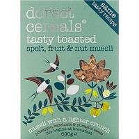Dorset Cereals Tasty Toasted Spelt, Fruit & Nut Muesli