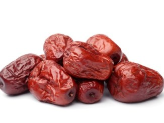 32848532 - dried jujube fruits on white background