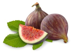 7920725 - fresh figs isolated on white background.