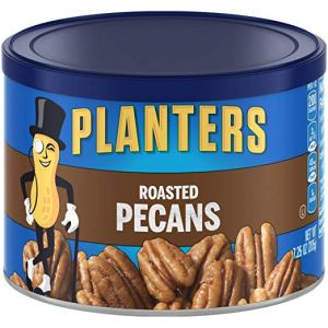 Planters Pecans, Roasted & Salted, 7.25 Ounce Canister