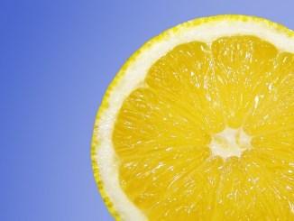 lemons amongst other citrus fruit are a good source of citric acid.