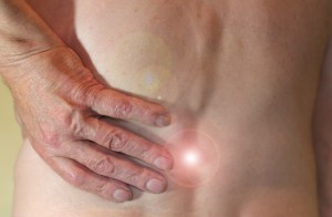 Inflammation in the back causing pain. Possible treatments inlcude ginger supplementation.