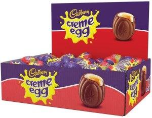 Cadbury Creme Eggs, Box of 48