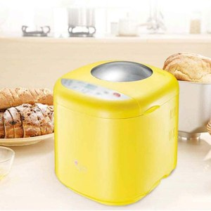 220V Bread Maker Machine, 10-in-1 Automatic Bread Machine with Nut Dispenser Bread Maker with 10 Programmes Cooking Breadmaker Nonstick Ceramic Pan 3 Loaf.