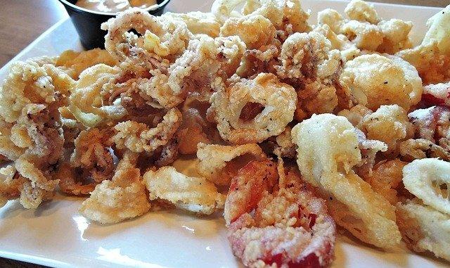 Calamari tempura