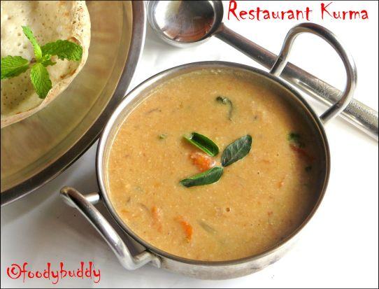 Restaurant Style Kurma
