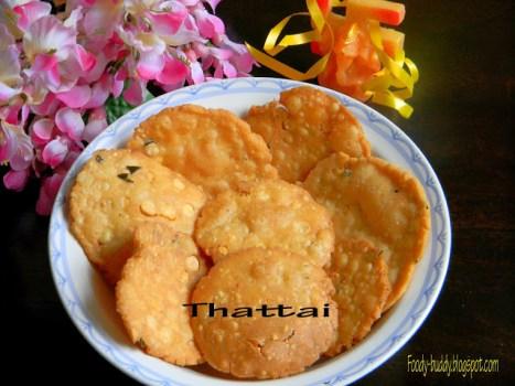 Thattai Recipe