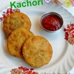 green peas kachori