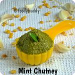 Pudhina Thogayal / Mint Chutney