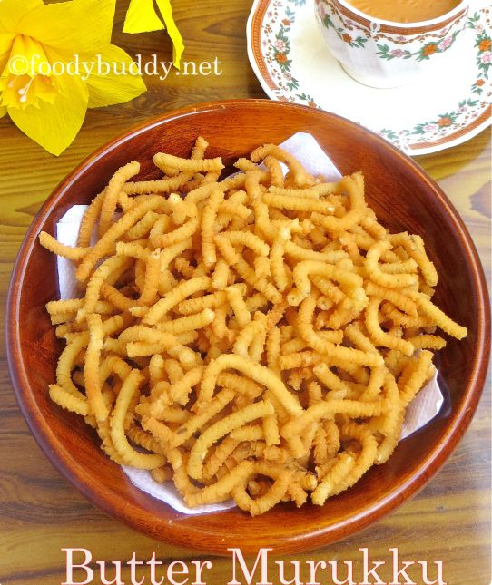easy butter murukku recipe