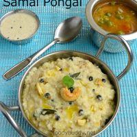 Samai Ven Pongal Recipe / Little Millet Pongal