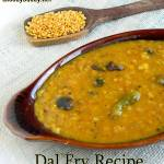 basic dal recipe using toor dal
