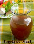 HOMEMADE VEGETABLE STOCK (BASIC STOCK RECIPE)