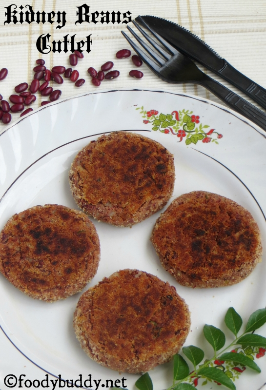 rajma cutlet