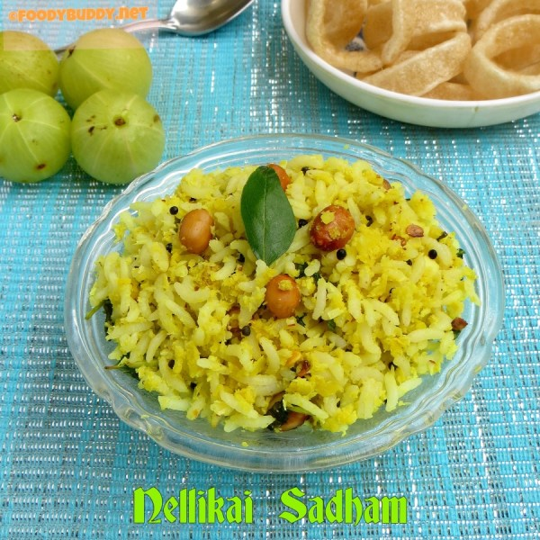 gooseberry rice / Nellikai Sadham