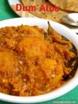 Dum Aloo / Aloo Dum Recipe (Punjabi Style)