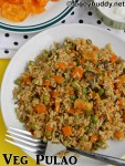 Mixed vegetable pulao recipe in pressure cooker / How to make veg pulao