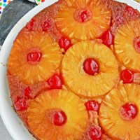 The Best Eggless Pineapple Upside Down Cake Recipe