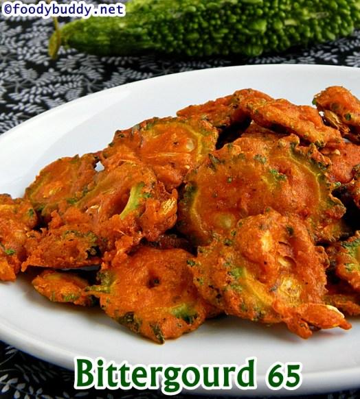 bittergourd 65 recipe