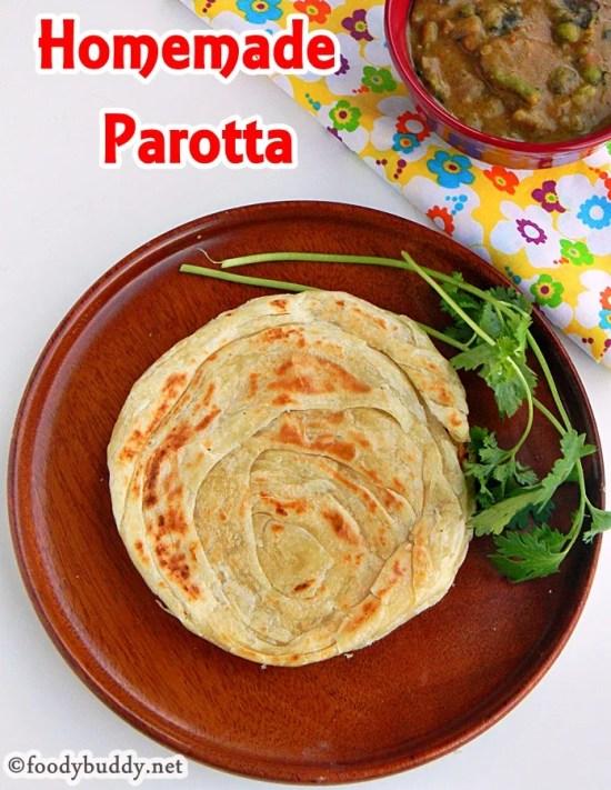 Parotta recipe (tamilnadu style)