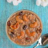 Red Aval Payasam Recipe With Jaggery / Poha Kheer