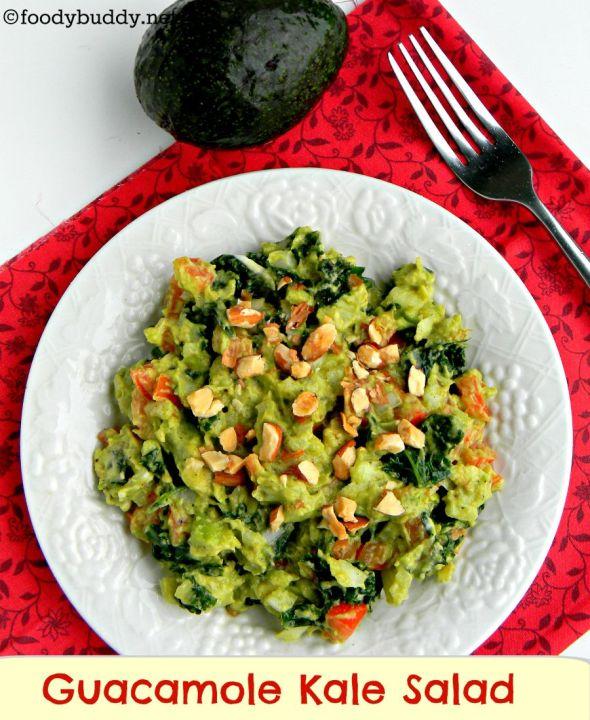 guacamole kale salad