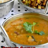Pottukadalai Sambar Recipe / Sambar without Dal & Veggies